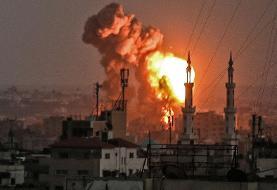 حمله جنگده های اسرائیلی به نوار غزه