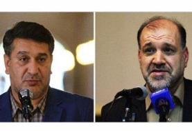 (تصاویر) دو نماینده بازداشتی در صحن مجلس