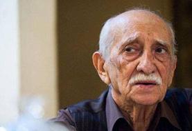 داریوش اسدزاده بازیگر سینما و تلویزیون در سن ۹۶ سالگی درگذشت