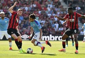 Premier League: Bournemouth 1-3 Manchester City