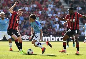 Premier League: Bournemouth 1-3 Manchester City