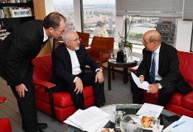 رایزنی وزیران امور خارجه ایران و فرانسه در نیویورک