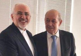 دیداری از پیش اعلام نشده در فرانسه | رویترز: مذاکره ظریف و لودریان آغاز شد