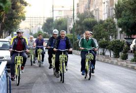 گشت دوچرخهایدرکوچهپس کوچهها