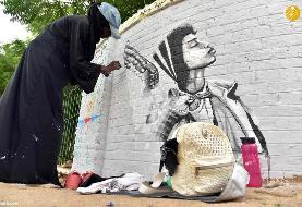 (تصاویر) انقلاب سودان روی دیوار!