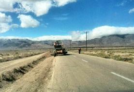 جاده چمسرخ دهلران در پیچ و خم بیپولی