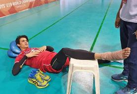 والیبال نوجوانان جهان؛ شکست ایران مقابل ایتالیا و آسیبدیدگی توخته