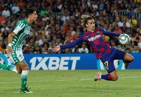 La Liga: Barcelona 5-2 Real Betis