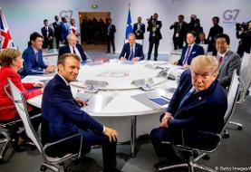ترامپ: سفر ظریف به محل نشست گروه هفت با تأیید من صورت گرفت