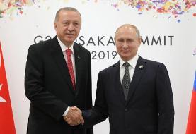 دعوت اردوغان به روسیه