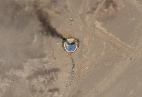 Iranian Rocket Launch Ends In Failure, Imagery Shows