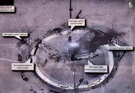 Trump denies U.S. responsibility for destruction of Iranian rocket launch