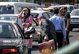 کاهش موقتی کیفیت هوا در پایتخت