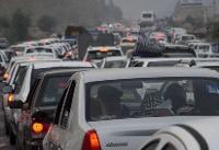 بازگشت ترافیک سنگین به جاده های شمالی/ هوای محورهای شمالی صاف است