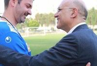نشست استراماچونی با مدیر عامل باشگاه استقلال برگزار شد