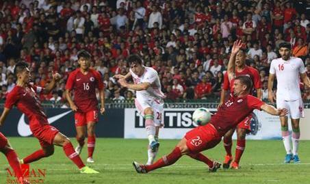 اولین برد رسمی ویلموتس با ایران درمقدماتی جام جهانی ۲۰۲۲ قطر: ایران ۲ - هنگکنگ صفر