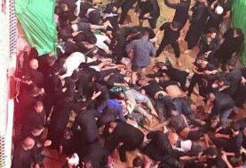 ۳۱ جانباخته و ۱۰۰ زخمی در حادثه مراسم عاشورای حسینی(ع) در کربلا