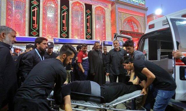 تایید فوت یکی از زائران ایرانی: بیش از ۳۵ کشته و ۱۲۰ زخمی در ازدحام جمعیت در کربلا/ اعلام اسامی مجروحان ایرانی+ تصاویر