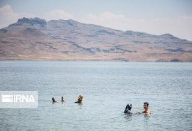 آخرین وضعیت دریاچه ارومیه؛ عمق دریاچه بیشتر شده است
