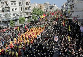 Lebanon Shiites mark Ashura in show of anti-Israel defiance