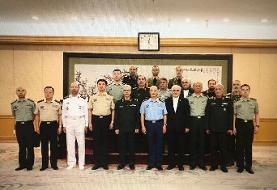 تصویری از احترام نظامی چینیها به سرلشکر باقری/جزئیات دیدار با ژنرال شو چیلیانک