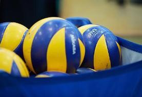 ورود تیم ملی والیبال ژاپن به ایران برای حضور در مسابقات قهرمانی آسیا