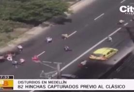 قمه کشی هواداران فوتبال پس از دربی کلمبیا