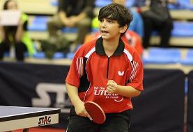 یک بازیکن ایرانی عضو تیم منتخب تنیس روی میز آسیا شد