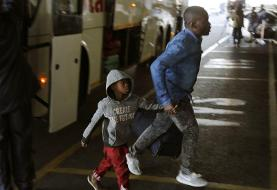 Hundreds of Nigerians board plane to leave South Africa