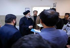 بازدید سرزده رئیس دستگاه قضا از مجتمع قضایی شهید مطهری