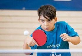 پینگ پنگ باز ایرانی عضو تیم منتخب آسیا شد