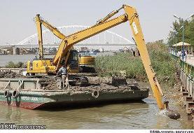 برنامههای جدید برای لایروبی رودخانههای ایران