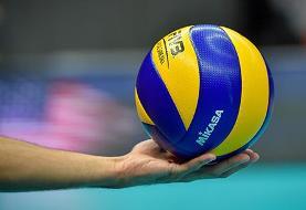 اعلام اسامی تیم ملی والیبال برای مسابقات قهرمانی آسیا