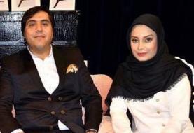 آقای خواننده و همسر مجری اش داغدار شدند