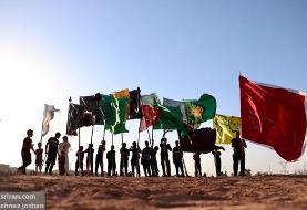 آیین تدفین نمادین شهدای کربلا در حمیدیه - خوزستان (عکس)
