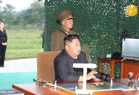 (تصاویر) کیم جونگ اون نظارهگر آزمایش موشک انداز غول پیکر