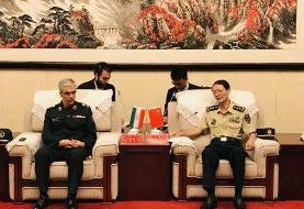سرلشکر باقری: ایران آماده انتقال تجربیات خود به دانشگاه دفاع ملی چین است