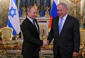 واکنش پوتین نسبت به انتخابات پارلمانی در اسرائیل