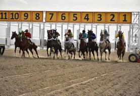 هفته قهرمانی کورس اسبدوانی پاییزه آق قلا برگزار شد