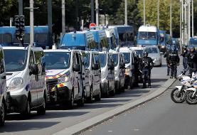 درگیری پلیس با تظاهرکنندگان «جلیقه زرد» در شهر نانت فرانسه