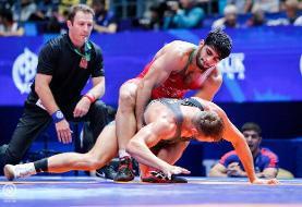 رامین طاهری سومین حذف شده ایران/ تاب و ساروی در گروه بازندهها بدنبال مدال برنز و سهمیه المپیک