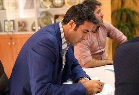 بهنام محمودی هم وارد گود انتخابات والیبال شد