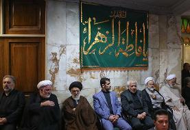 تصاویر: چهره های سیاسی در تشییع پیکر مرحوم عسگراولادی