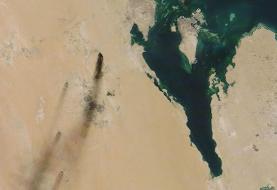 دود سیاه بر فراز پالایشگاههای آرامکو/ اختلال در تولید نفت عربستان هفتهها ادامه دارد