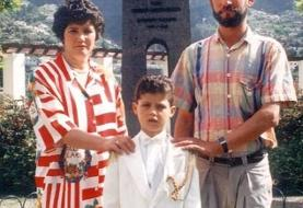 اشک رونالدو در یک مصاحبه درآمد/ حسرت یک مکالمه نرمال با پدر