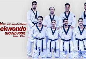 پایان کار تکواندوکاران ایران در مسابقات گرندپری با کسب ۳ مدال