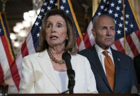 Pelosi and Schumer take hard line with Trump on gun background checks