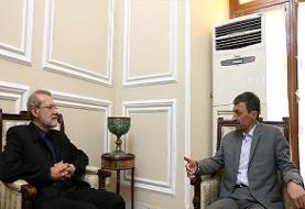 لاریجانی با سردار سلیمانی و پرویز فتاح دیدار کرد/عکس