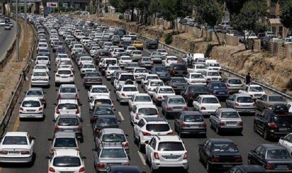 افزایش ۳۰ درصدی ترافیک شهری در مهر ماه