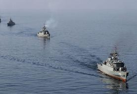 توقیف شناور حامل نفت قاچاق در خلیج فارس توسط سپاه